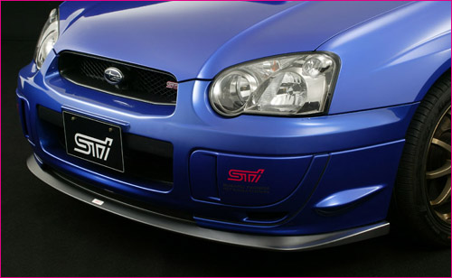 STI FRONT UNDER SKIRT SUBARU IMPREZA STI MY03-05