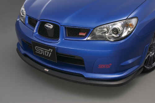 STI FRONT UNDER SKIRT SUBARU IMPREZA STI MY06-07