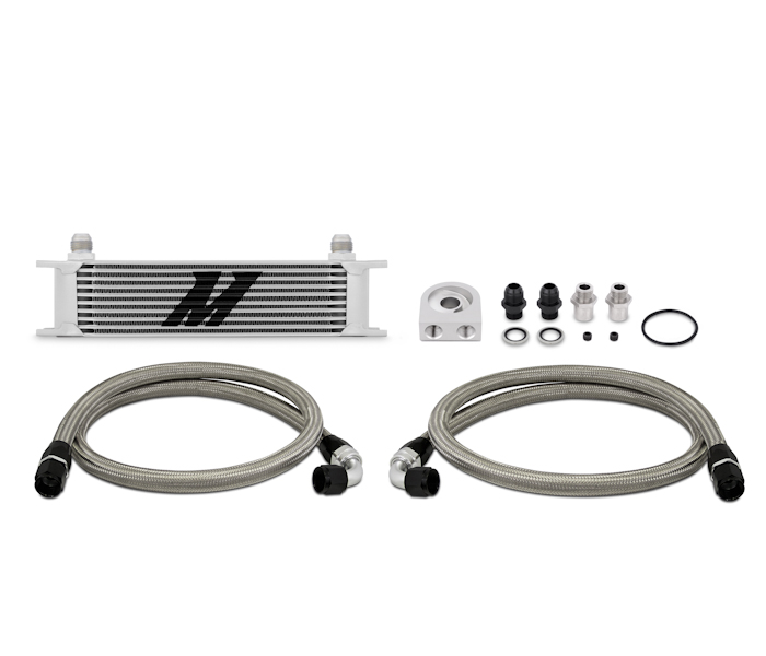 Mishimoto Universal Oil Cooler Kit ,10 Row
