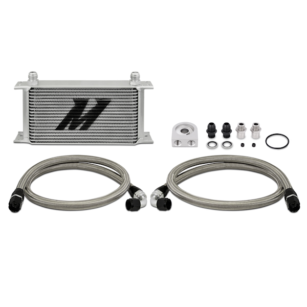 Mishimoto Universal Oil Cooler Kit, 19 Row