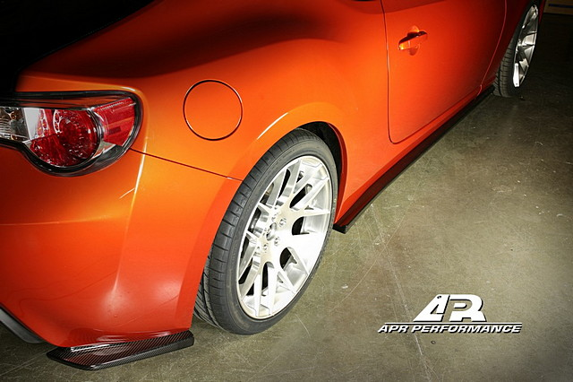 APR Rear Bumper Extensions