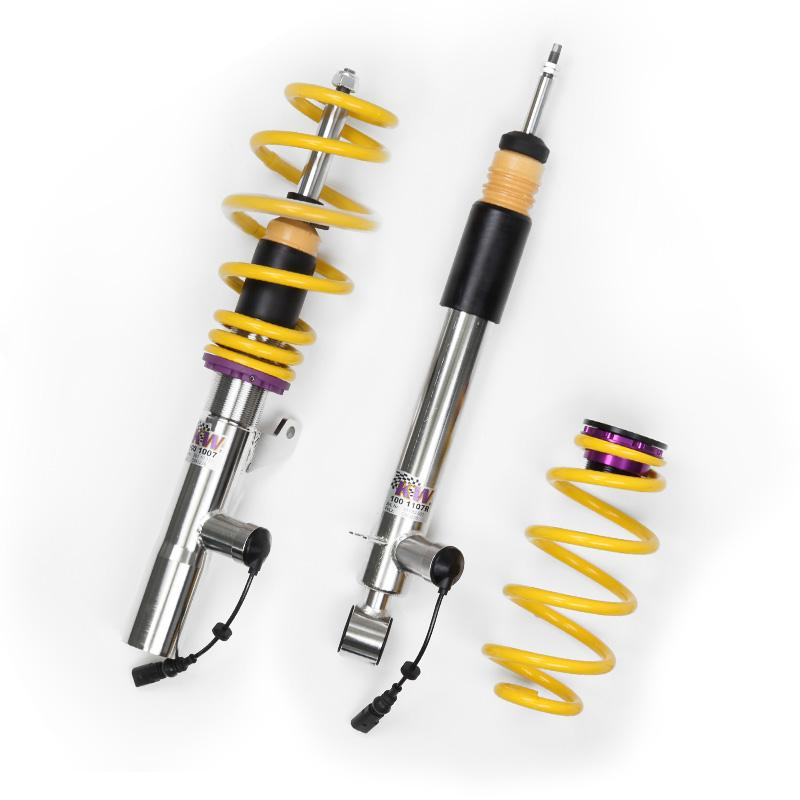 KW DDC - Plug & Play Coilover inox Golf 7 R