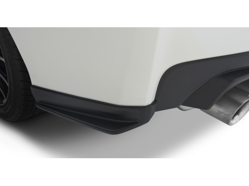 Subaru STI Rear Quarter Under Spoiler