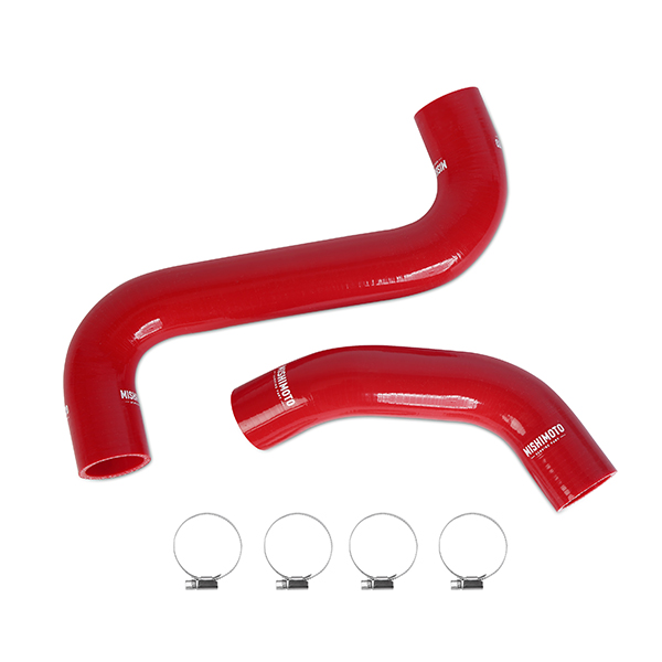 Mishimoto Radiator Hose Kit red WRX STI MY2002-07