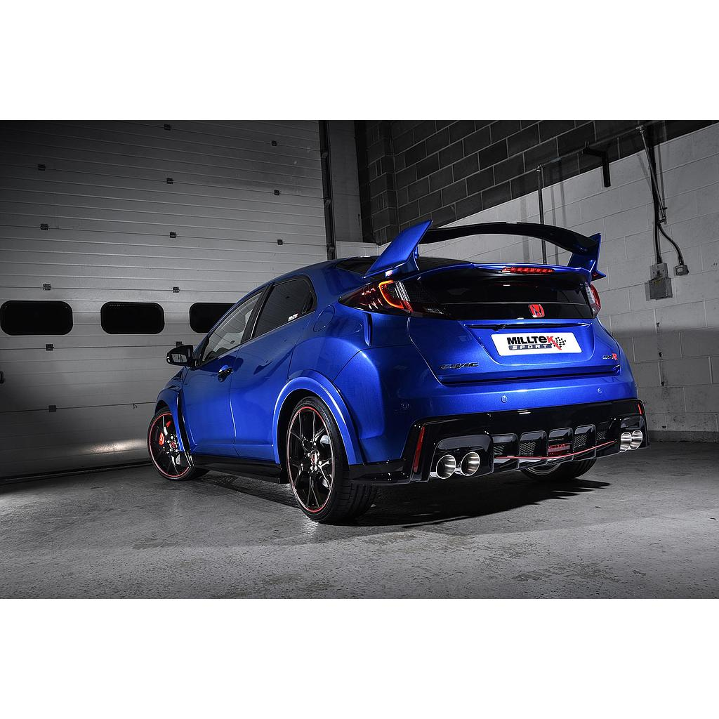 Milltek Catback Exhaust Civic Type R FK2 2015-