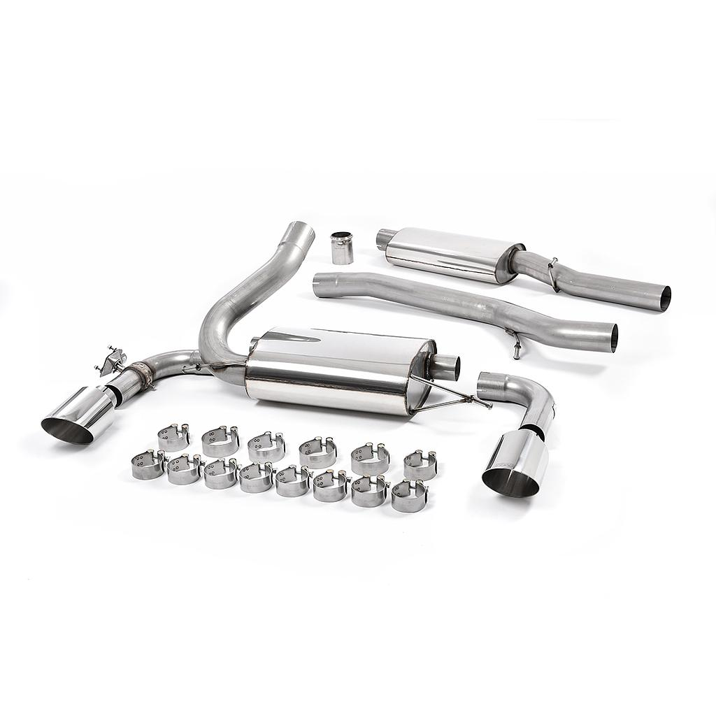 Milltek Sport catback Exhaust Ford Focus RS MK3