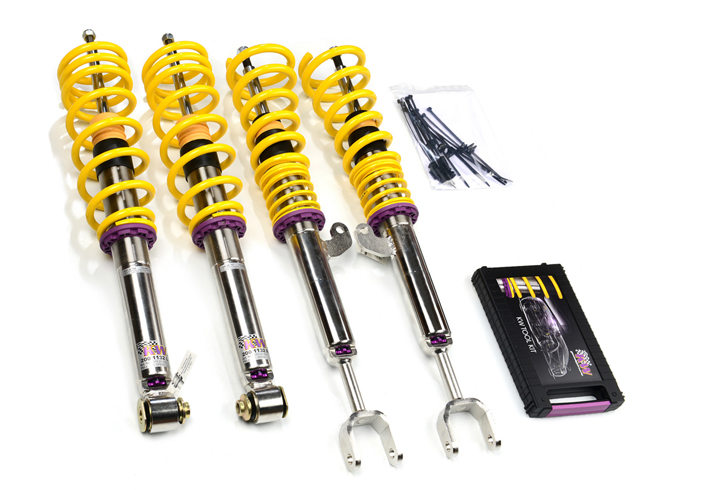 KW V3 coilovers Ford Focus RS MK3