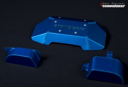 Nameless Engine Cover Kit blue anodized