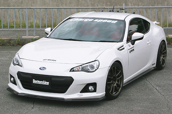 Chargespeed Bottom Line Type 1 Subaru BRZ Carbon