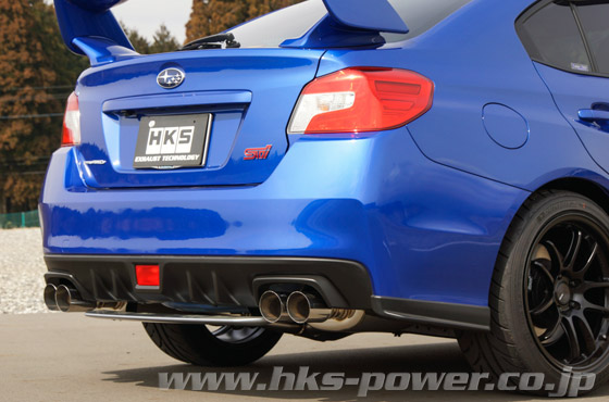 HKS Legamax Premium Exhaust for WRX STI 15+