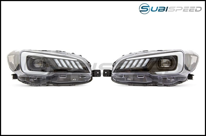 SubiSpeed LED Euro Headlights DRL w/ Hardware Kit - Subaru WRX STI/LEVORG 2015-2017
