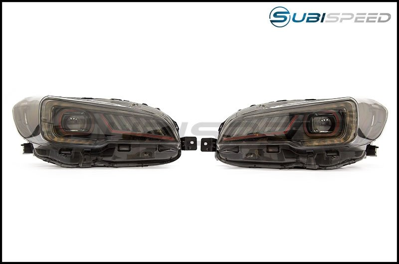 SubiSpeed Special Edition LED Headlights with DRL + Sequential Turns - 2015 WRX STI