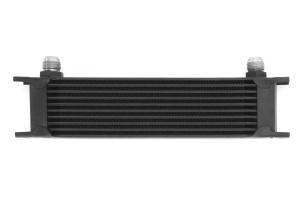 Mishimoto Universal 10 Row Oil Cooler, Black