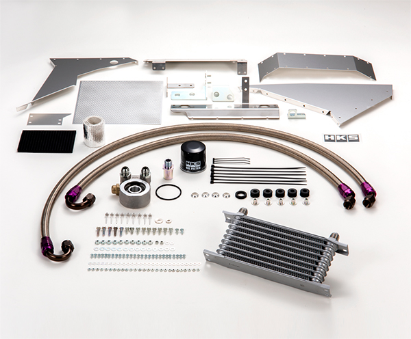 HKS Oil Cooler Kit Honda Civic Type R FK8