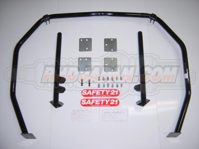 Cusco Safety 21 Roll Cage 4 Point 2 Seats Nissan S13