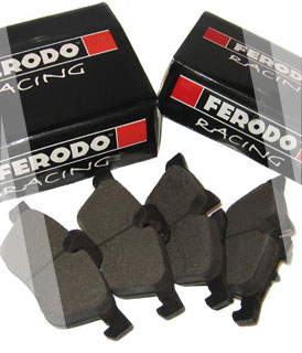 Ferodo DS2500 Rear Brake Pads Subaru GT -97