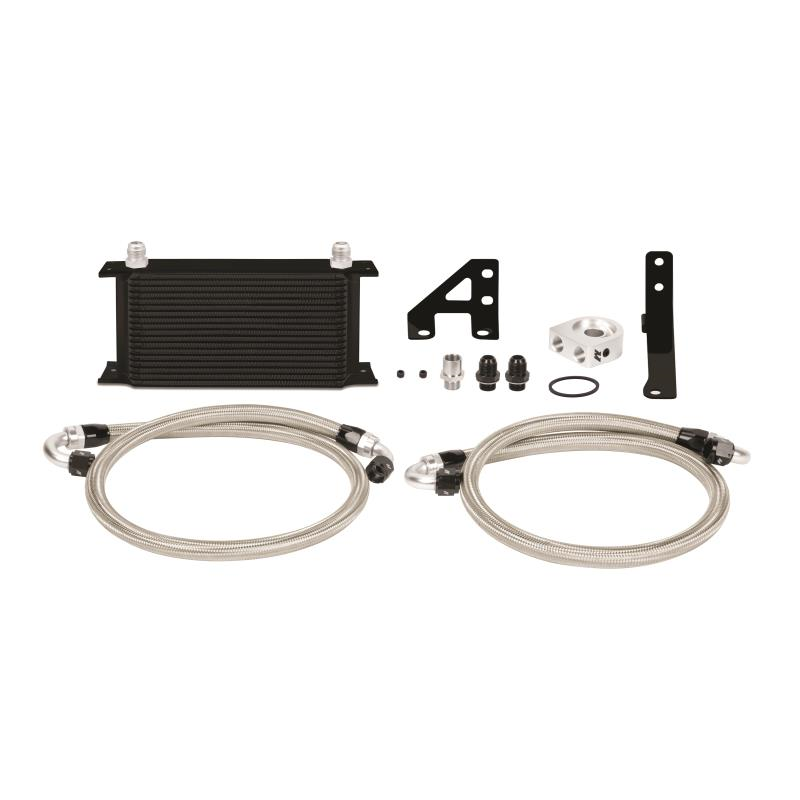 Mishimoto Oil Cooler Kit Black Subaru STI 2015+
