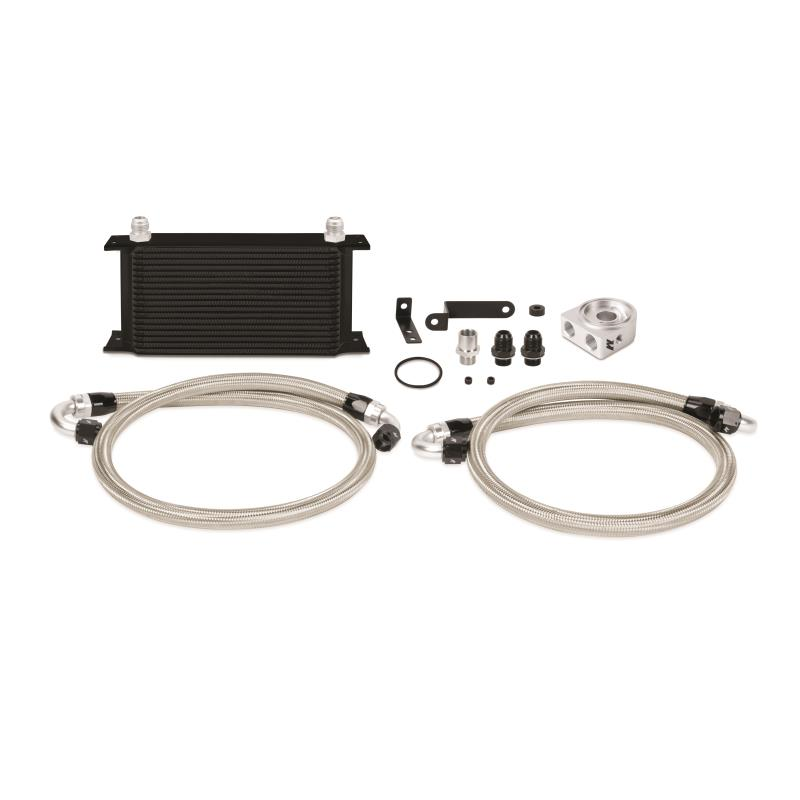 Mishimoto Oil Cooler Kit Black Subaru STI 2008-2014