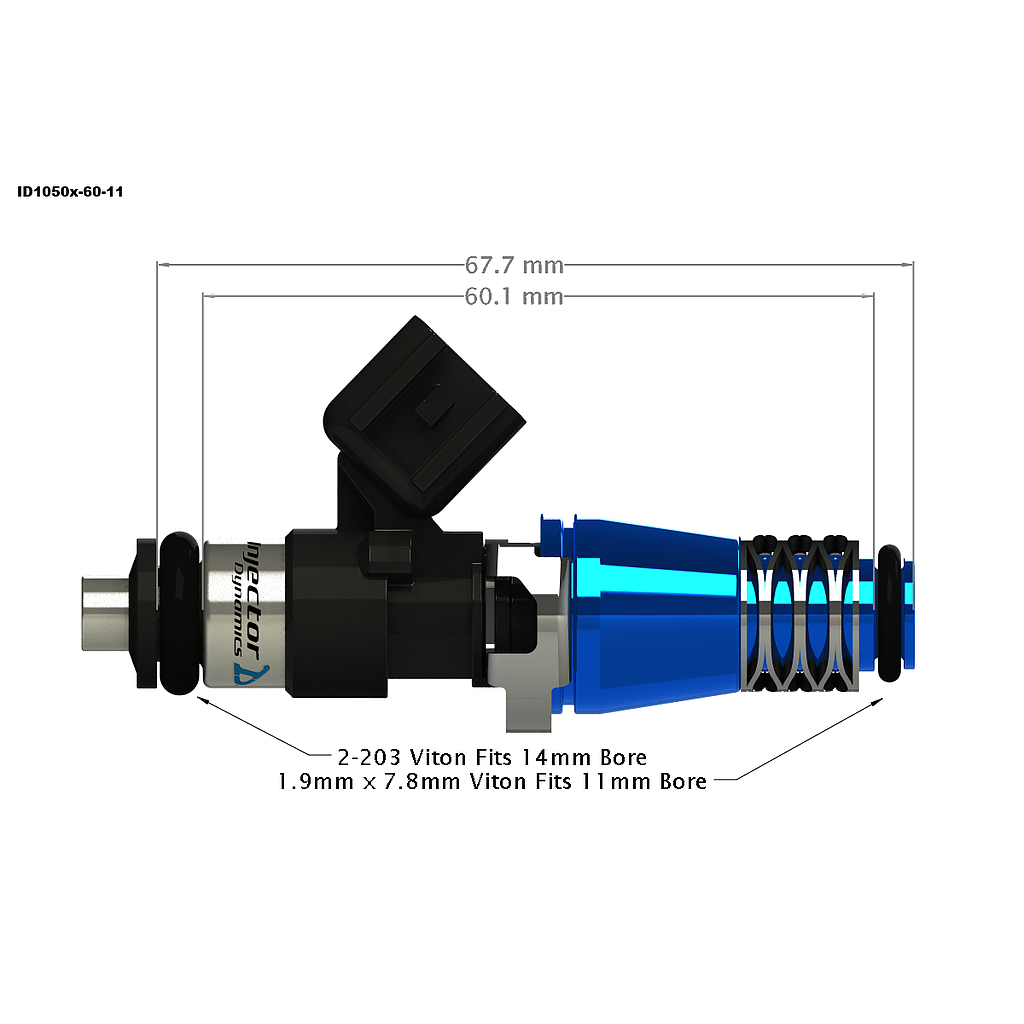 Injector Dynamics ID1050X Fuel Injectors