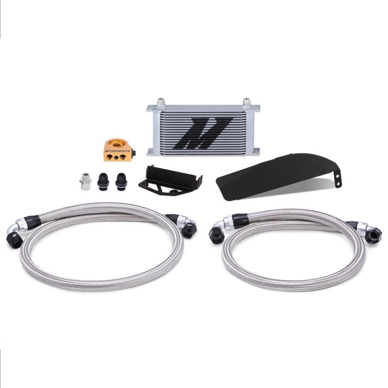 Mishimoto Honda Civic Type R FK8 Direct Fit Oil Cooler Kit, 2017+, Silver