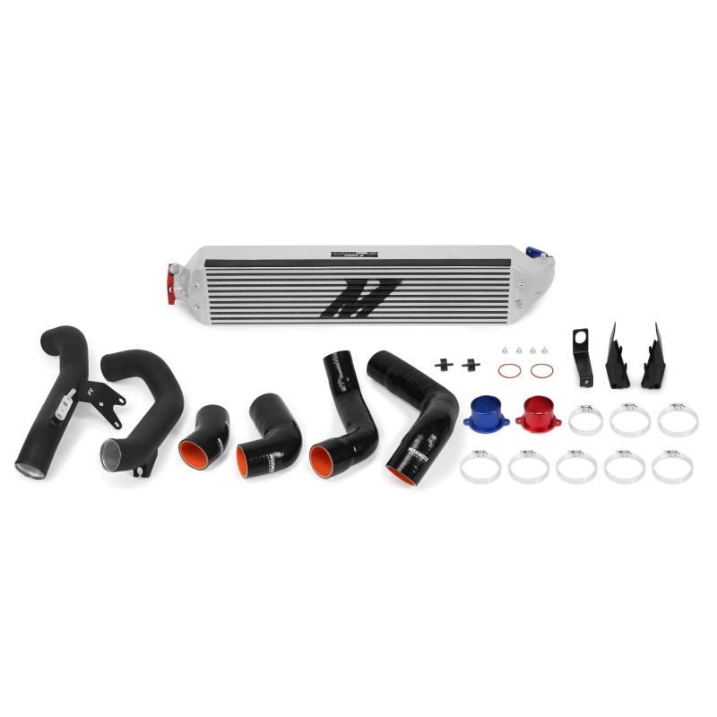 Mishimoto Honda Civic 1.5T/Si Performance Intercooler Kit 2016+, Silver Intercooler, Black Pipes