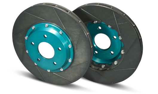 PROJECT MU SCR-PRO Brake Rotors Subaru WRX STI 08+ - Rear