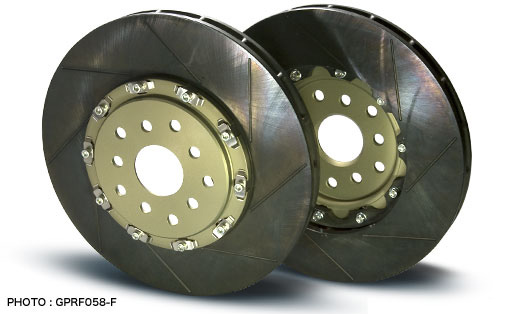PROJECT MU SCR-GT Brake Rotors Honda Civic Type R  FK2/FK8 - Front