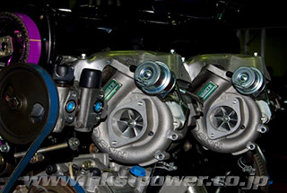 HKS GT3-RS SPORTS TURBINE KIT GT-R RB26