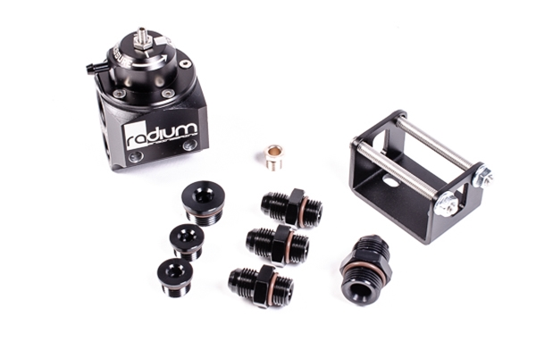 Radium Engineering Multi-Port Regulator, Black Top
