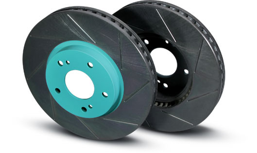 PROJECT MU SCR Brake Rotors Mitsubishi EVO 5-9 - Rear