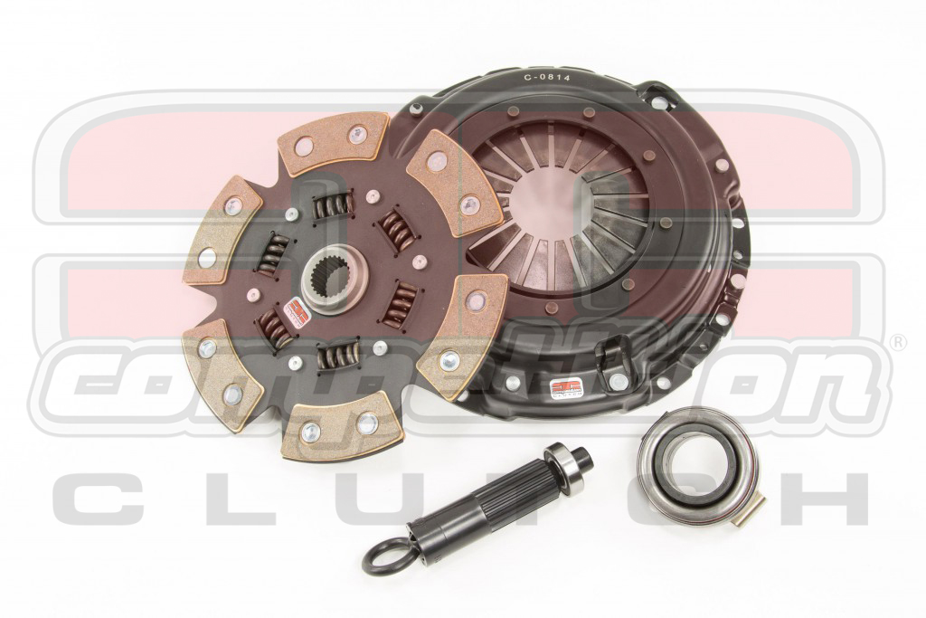 Competition Clutch Stage 4 6-Puck Clutch Kit - Mitsubishi Evo 7/8/9 2001-2006