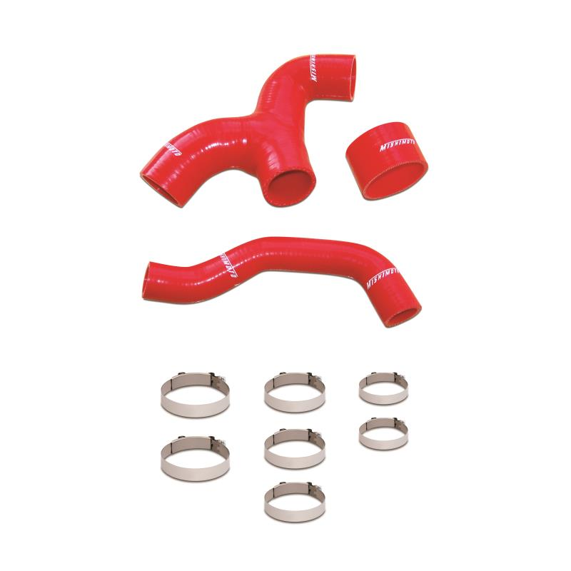 Mishimoto Intercooler Hose Kit Red - Subaru WRX 2002-2005