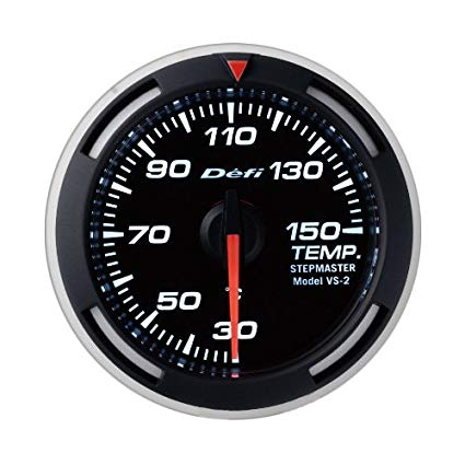 Defi White Racer Temperatur Gauge Metric 52mm