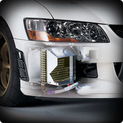 HKS Oil Cooler Kit R Type Evo 6, Stock Replacement