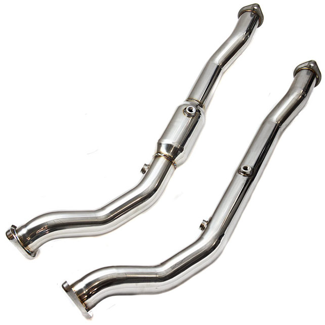 Invidia Mitsubishi Evo X Catted Downpipe