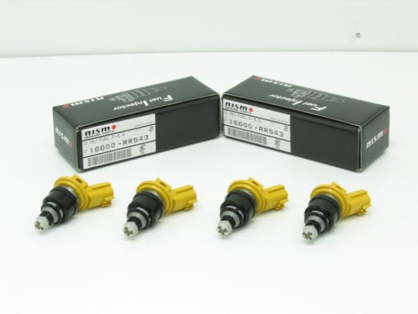 NISMO High-Flow Volume Injectors Set Side-feed 555cc Subaru GC8